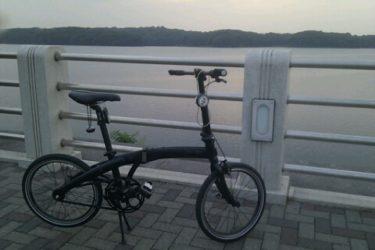 狭山湖とトトロの森に折りたたみ自転車を車に乗せて輪行した