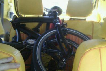 耳をすませばの聖地「聖蹟桜ヶ丘」を折りたたみ自転車で聖地巡礼した